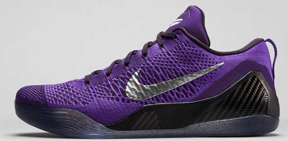 Nike Kobe 9 Elite Low Hyper Grape/Purple Venom-White