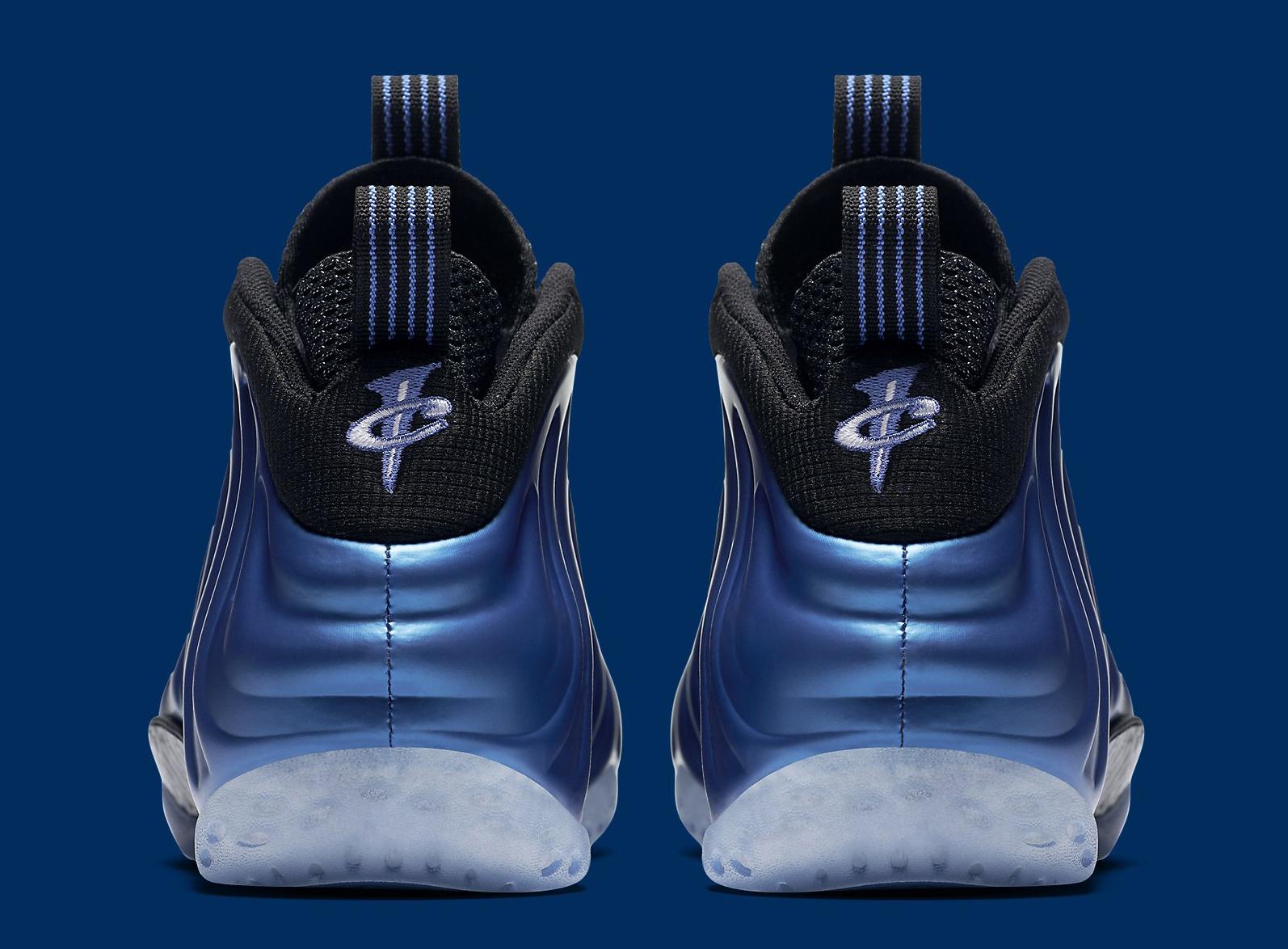 Nike Foamposite Royal XX 895320-500 Heel