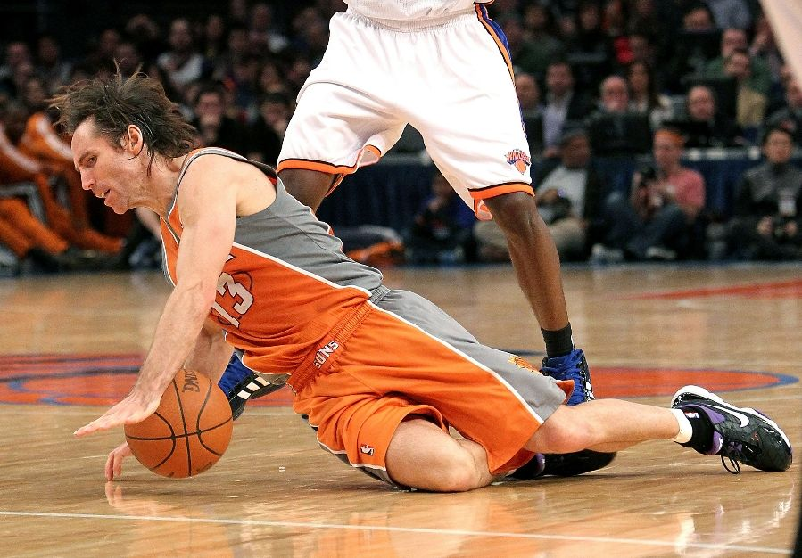 Steve Nash Wears Nike Zoom Go Low On MLK Day