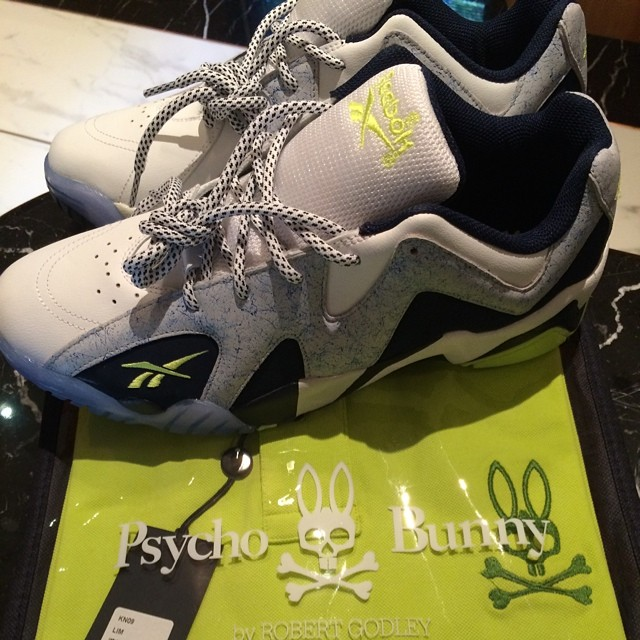 Swizz Beatz Picks Up Reebok Kamikaze II 2 Low Grey/Navy
