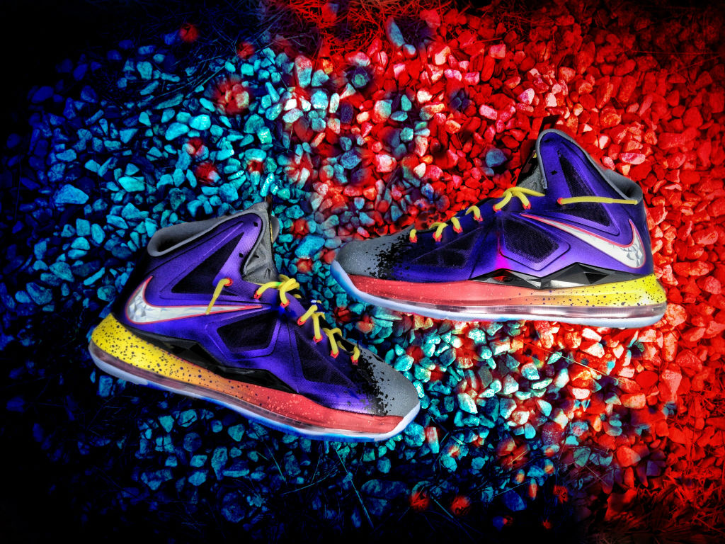 sale retailer 3283d 25880 Nike LeBron X The Evolution of NERF by Mache Custom Kicks (1)