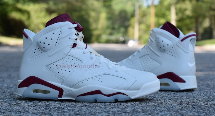 Air Jordan 6 Maroon 384664-116 (6)