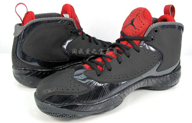 Air Jordan 2012 Black Red Grey 508318-010 (6)