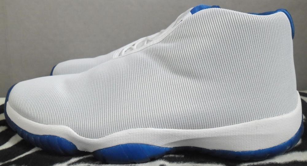 Jordan Future White/Sport Blue-Black