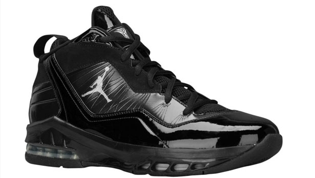 Jordan Melo M8 Black/Metallic Silver-Dark Charcoal