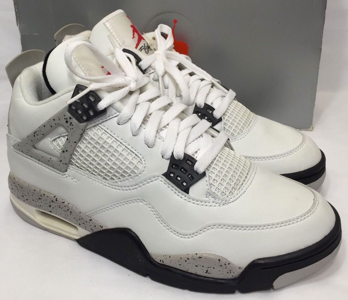 super popular 6734e 3c8b1 Air Jordan 4 Cement (1999)