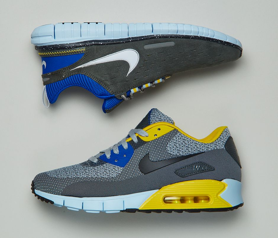 Nike Air Max 90 Essential Grey, Black & Red OG EUKicks