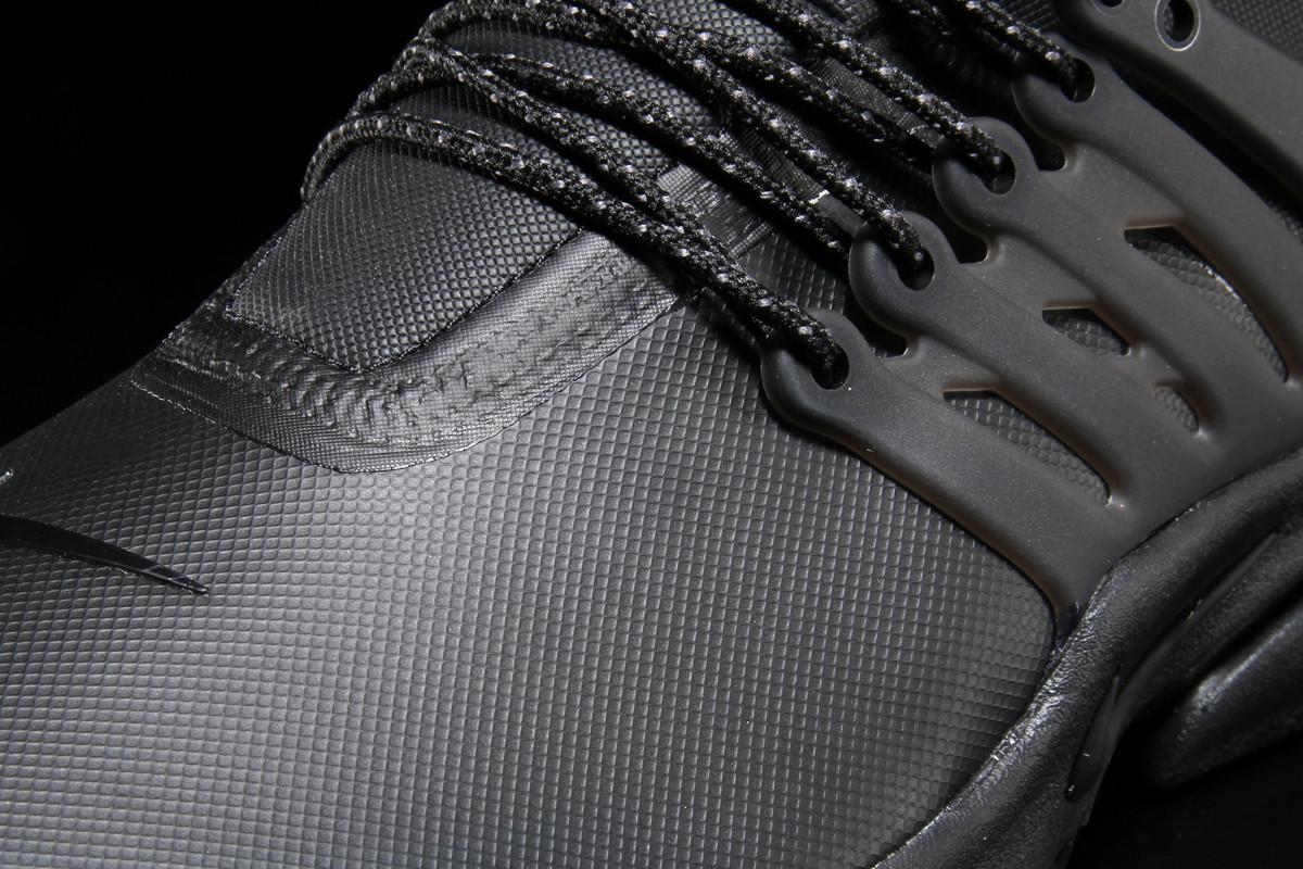 Nike Air Presto Mid Utility Triple Black Detail