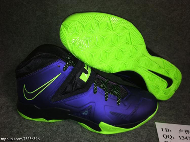 1017c64fb0c Stay tuned to Sole Collector for further details on the Court Purple Flash  Lime Nike Zoom Soldier VII.