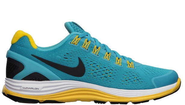 Nike Lunarglide+ 4 N7 Women's Dark Turquoise/Anthracite-White-Varsity Maize