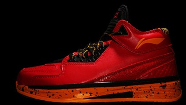 Li-Ning Way Of Wade 2 Red/Black-Gold