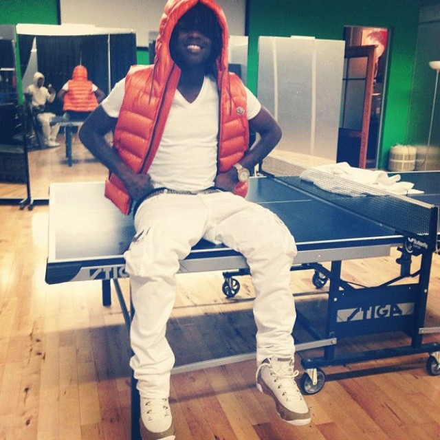 Chief Keef wearing Bin23 Air Jordan 9 Retro Premio