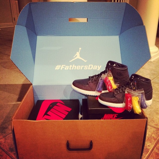 Jeremy Guthrie Picks Up Air Jordan I 1 Family Forever Pack