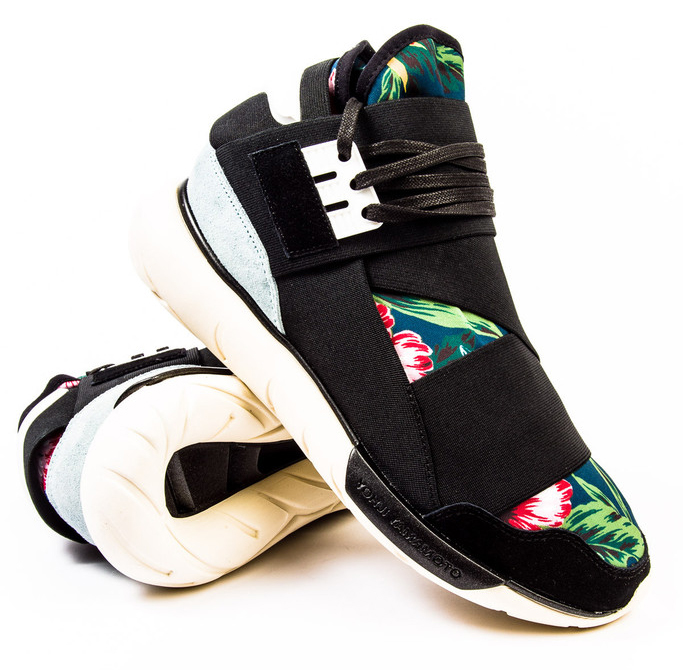 bf3bedd28 The  Floral  adidas Y-3 Qasa High Is Available Now