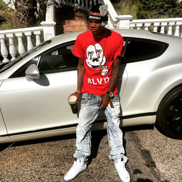 Soulja Boy wearing Nike KD VII 7 NSW Lifestyle