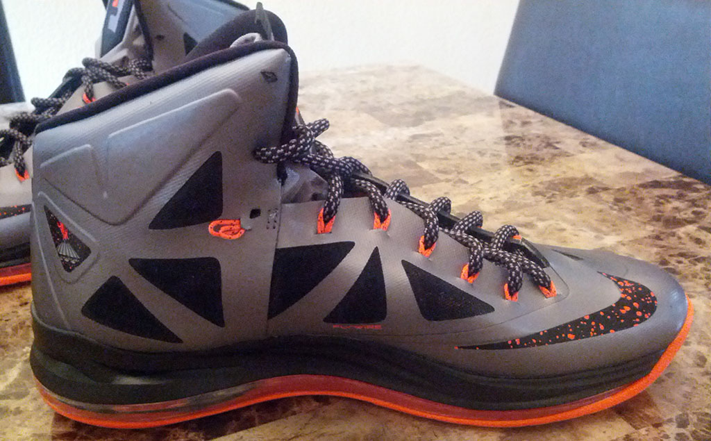 Nike LeBron X 10 Silver Black Orange Mango (4)