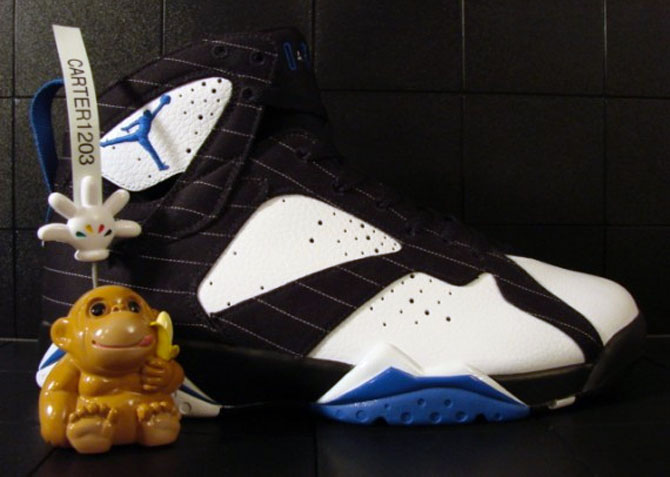 Air Jordan 7 Orlando Magic DMP Sample (2008)