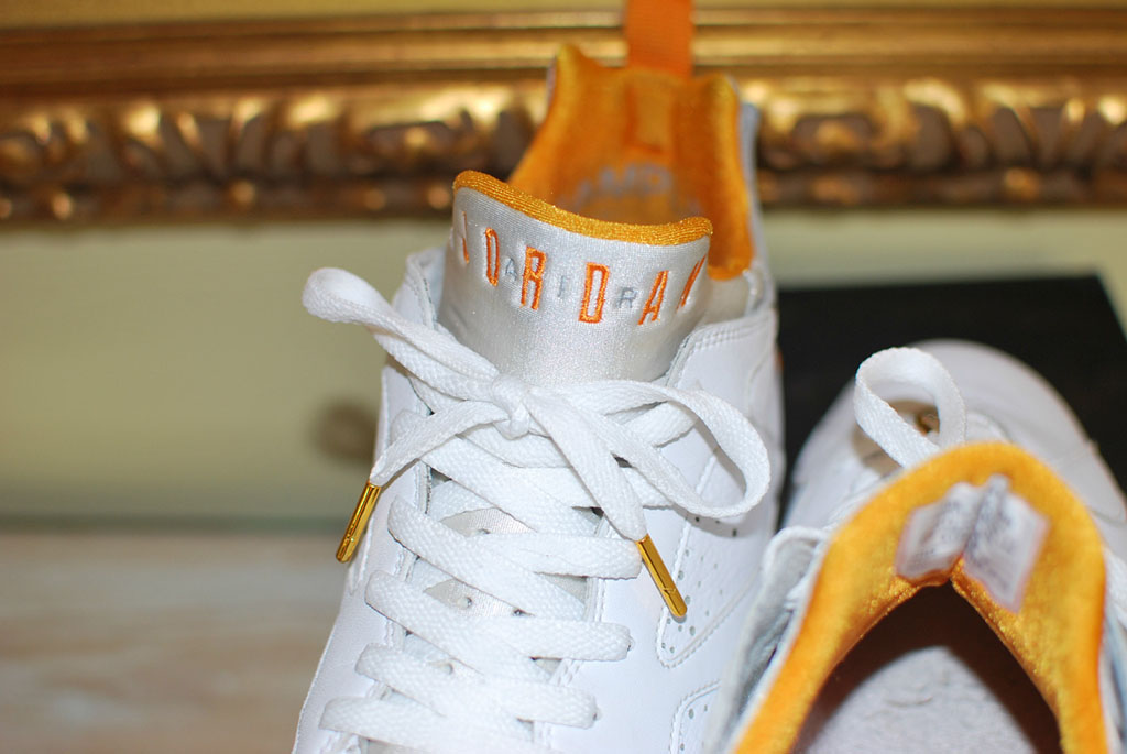 new arrive ef93c d4bd8 Air Jordan Retro 7 Low - White/Orange Sample   Sole Collector