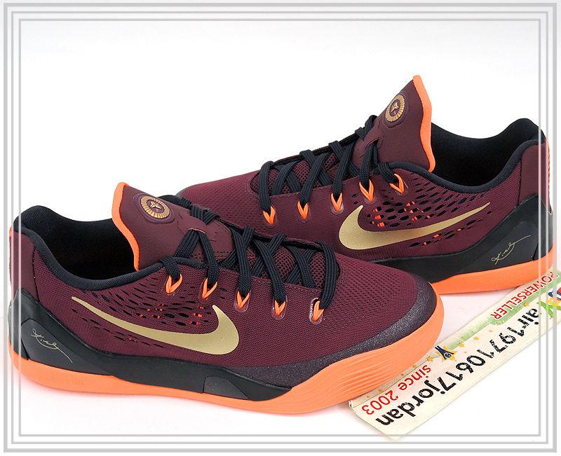 5e85ebe5785e51 Nike Kobe 9 EM GS Release Date  12 13 14. Color  Deep Garnet Metallic Gold  Style    653593-601