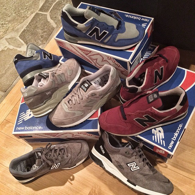DJ Skee Picks Up New Balance Shipment