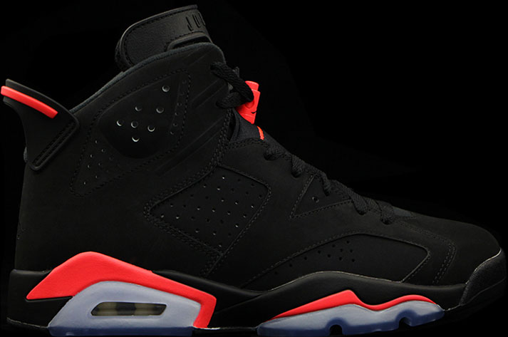 Air Jordan VI 6 Black Infrared Release Date 384664-023 (1)