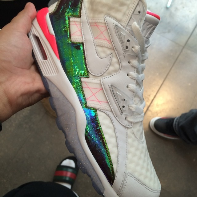 French Montana Picks Up Nike Air Trainer SC High Hyper Punch