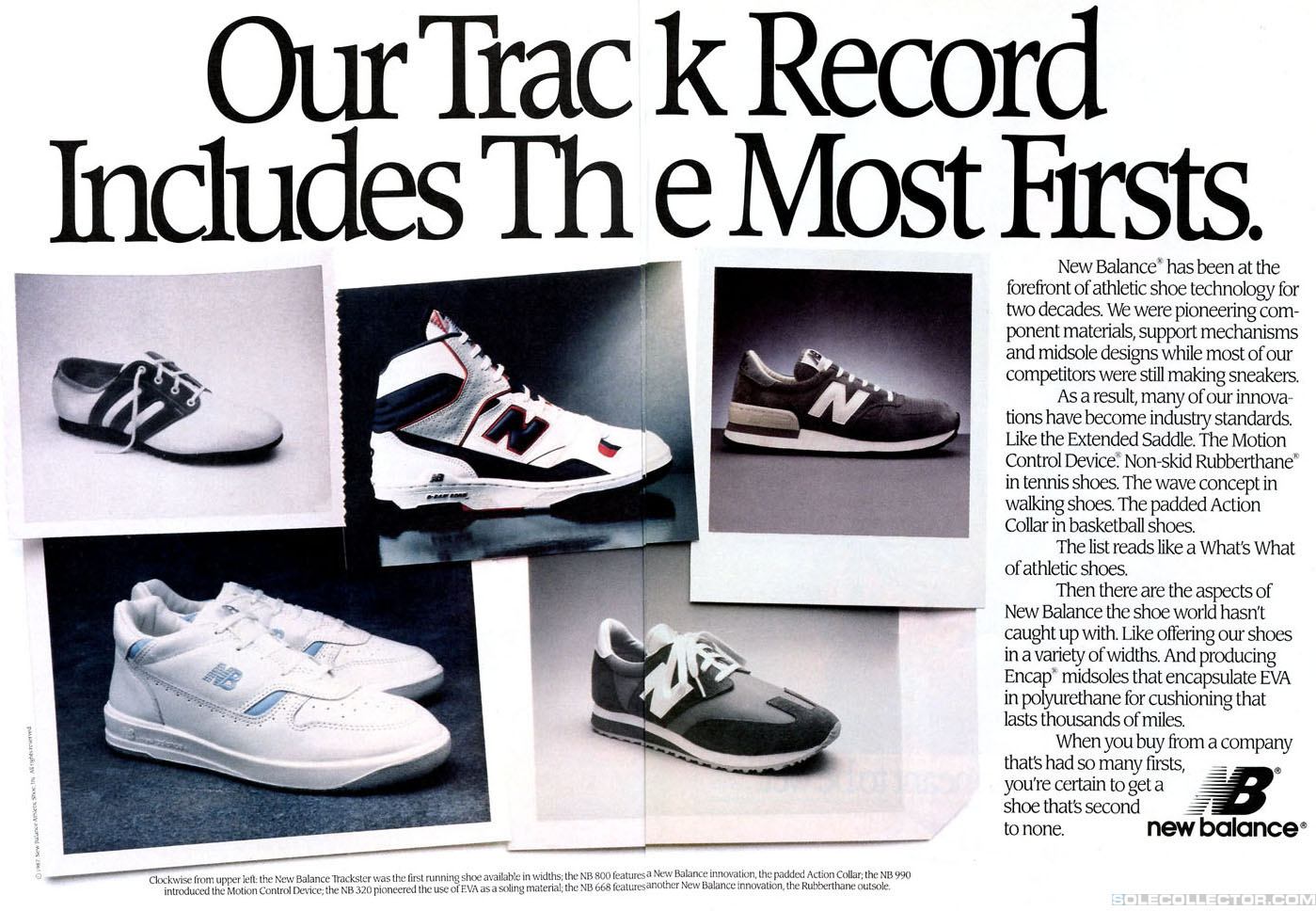 buy popular b8cc7 a7afd Vintage Ad: New Balance 1988 | Sole Collector