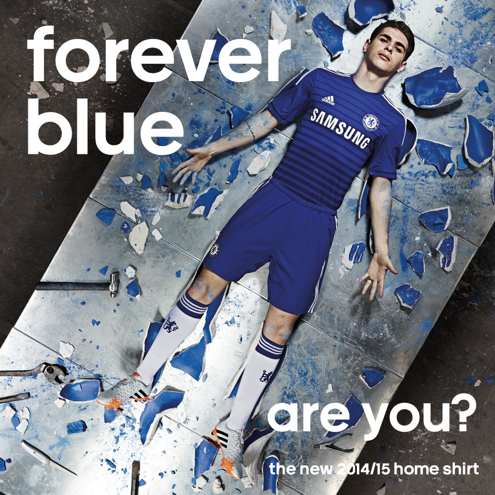 Forever Blue: Chelsea FC & adidas Unveil 2014-2015 Home Kit (1)
