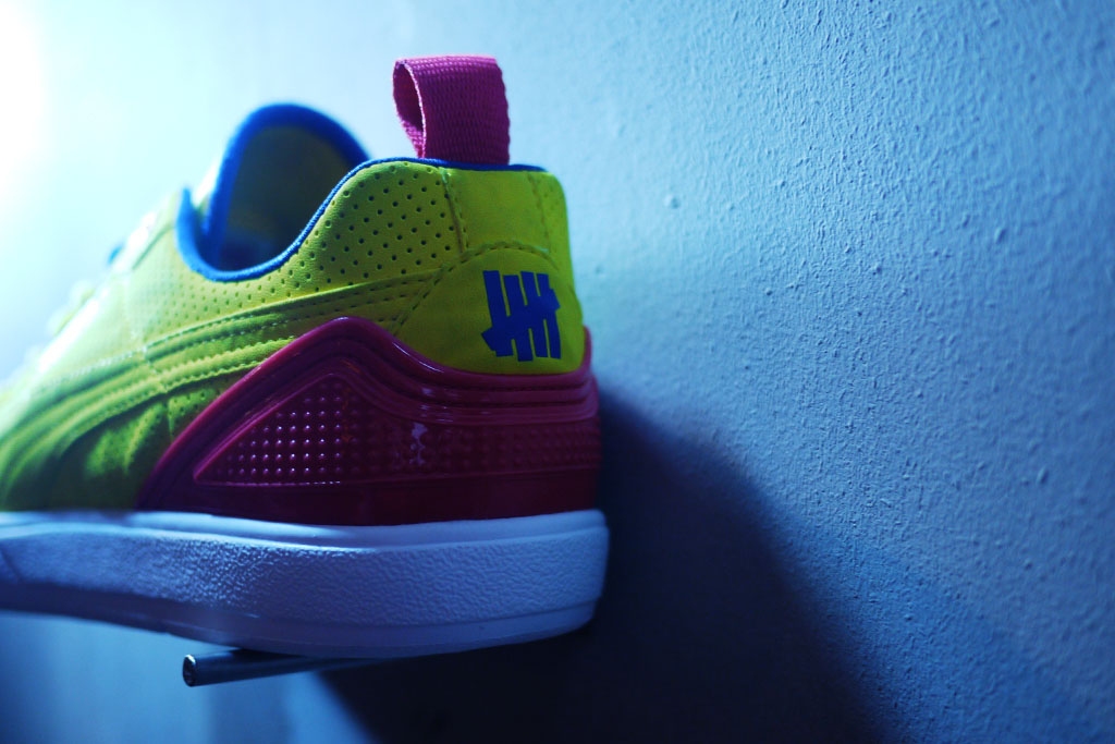 UNDFTD x PUMA Neoprene Clyde Yellow (4)