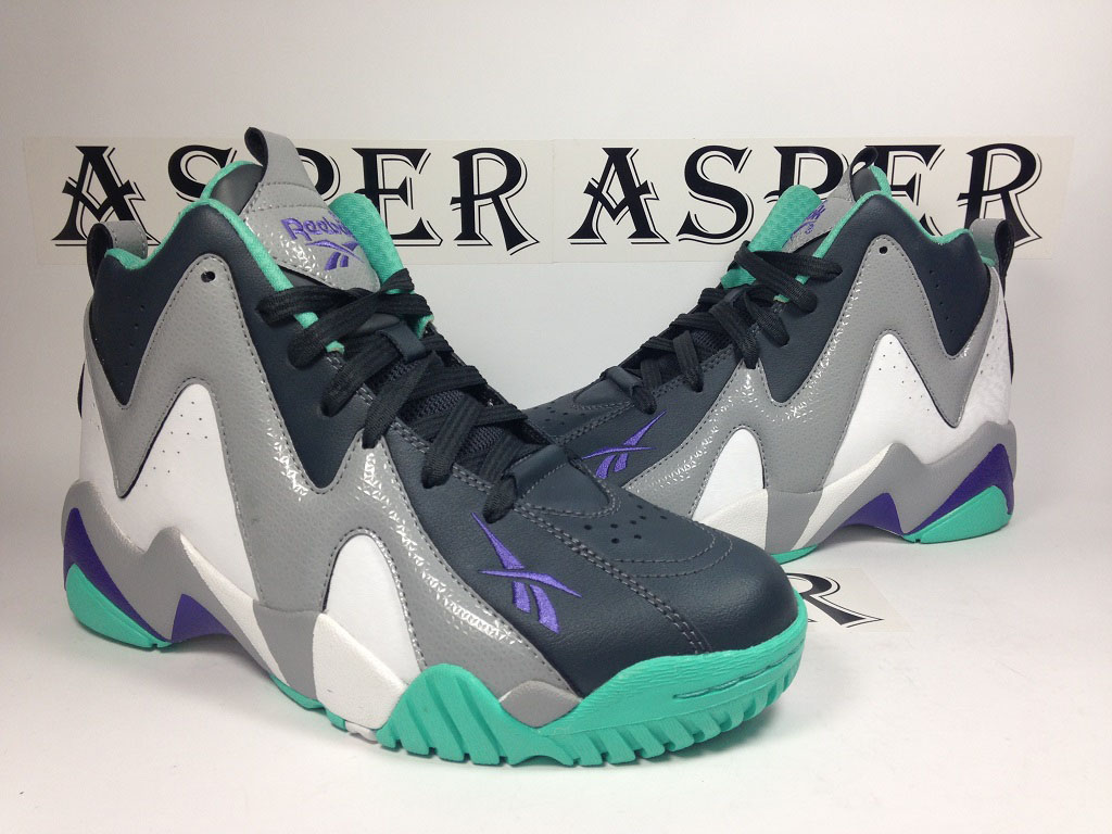 Reebok Kamikaze 2 GS - Navy/Grey-Teal (7)