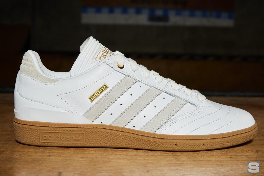 White Adidas Busenitz 10 Year Anniversary