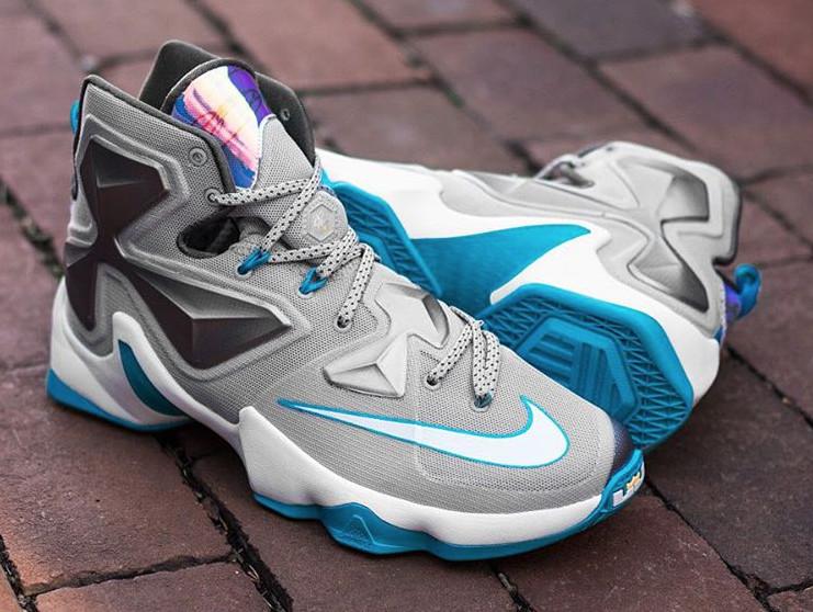 29f691e4999 Release Date  Nike LeBron 13  Blue Lagoon