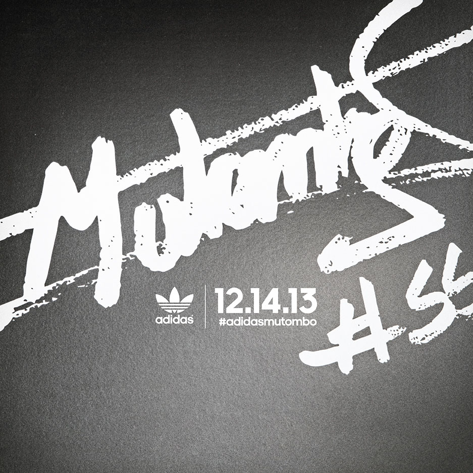 adidas Teases New Mutombo Shoe Release for December