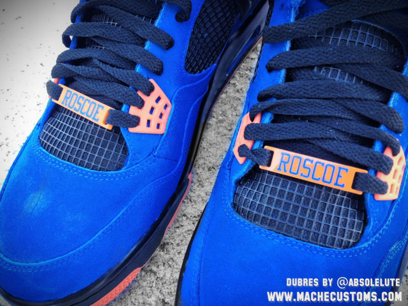 Air Jordan IV 4 Ball Don't Lie Rasheed Wallace by Mache Custom Kicks (2)