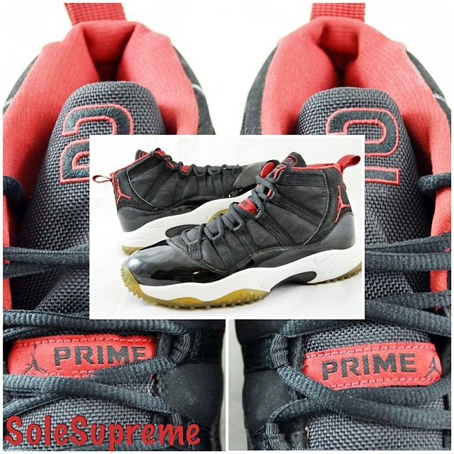 Air: Deion Sanders' Air Jordan 11 'Bred' Turf PE (2)
