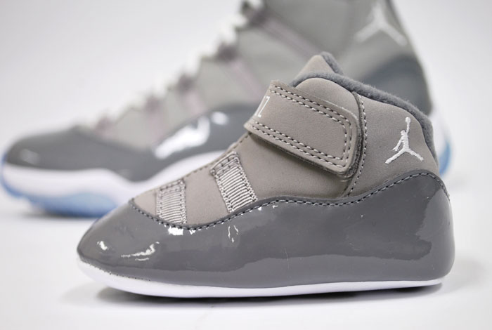 "Air Jordan Retro 11 Toddler - ""Cool Grey"" 