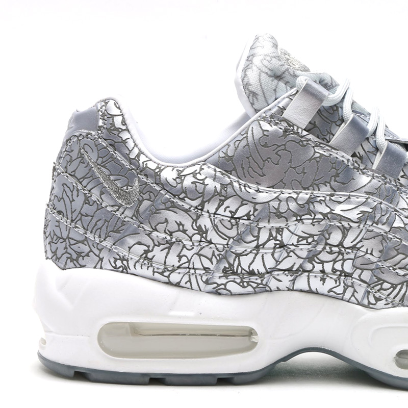 check out 2317b e2f1c The Details on the  Platinum  Nike Air Max 95 Are Insane   Sole Collector