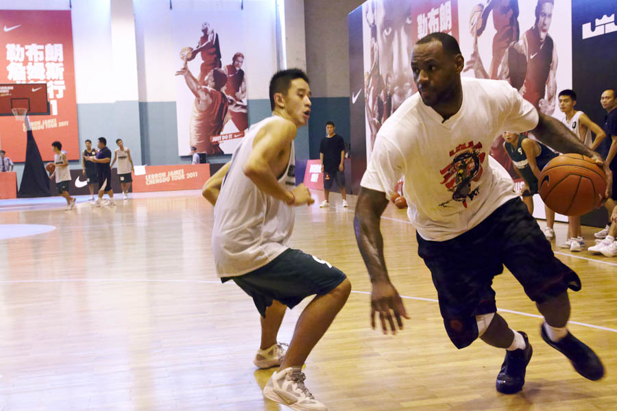 The 2011 LeBron James Basketball Tour - Chendgu Day 2