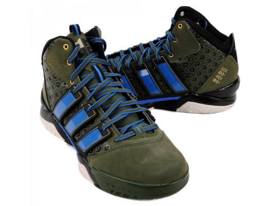 adidas adiPower Howard 2 Lei Feng Green Blue G49115 (2)