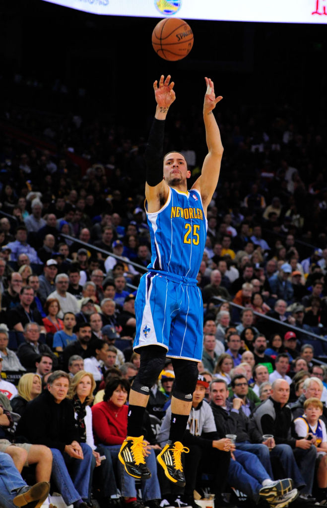 Austin Rivers wearing adidas adizero Ghost 2