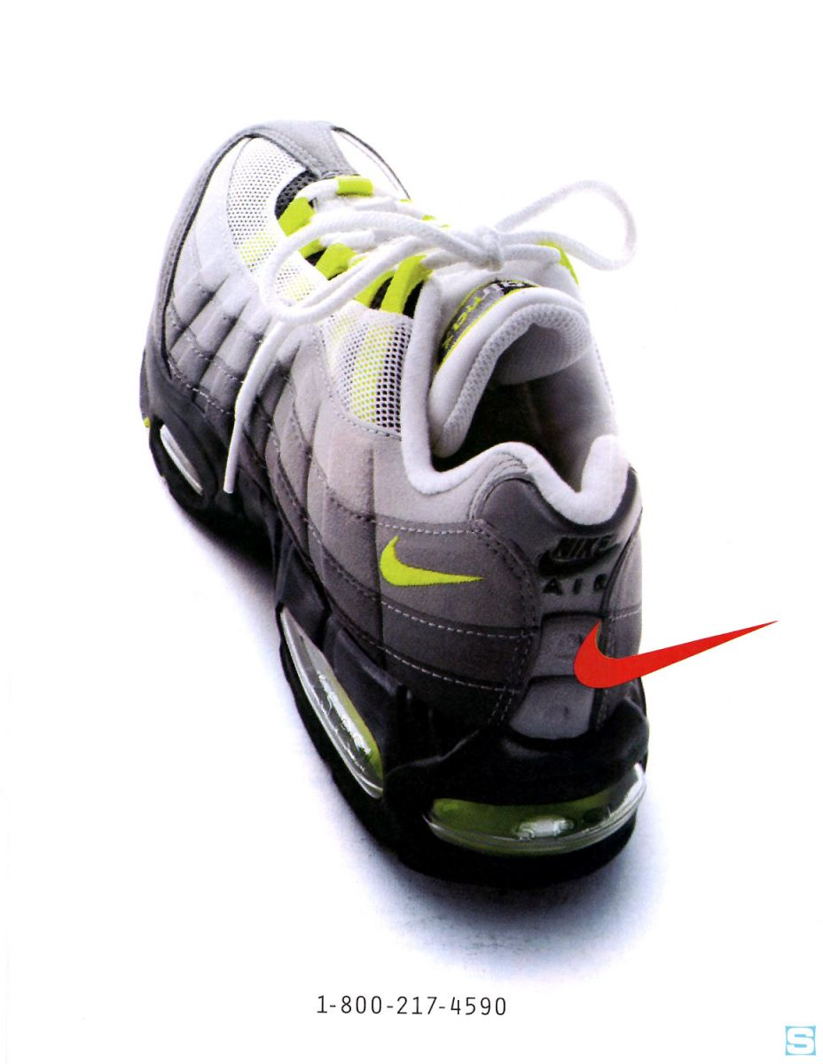 purchase cheap d0d5c 838be Vintage Ad  Nike Air Max 95