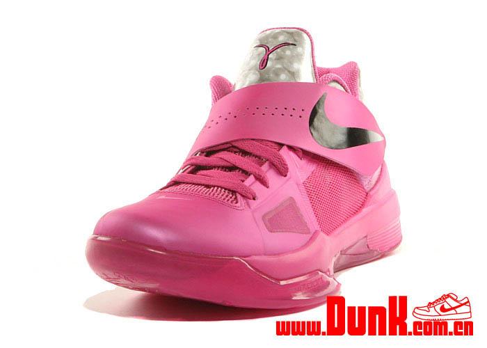 3ca70d757dd Nike Zoom KD IV Aunt Pearl Think Pink Kay Yow 473679-601 (3)