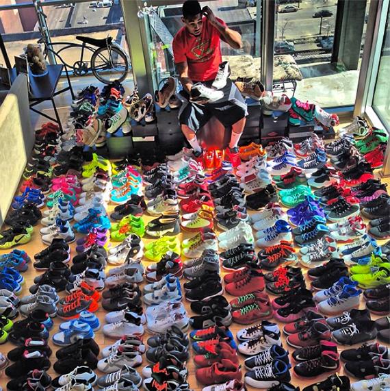 df63893c7557 michael jordan sneaker collection