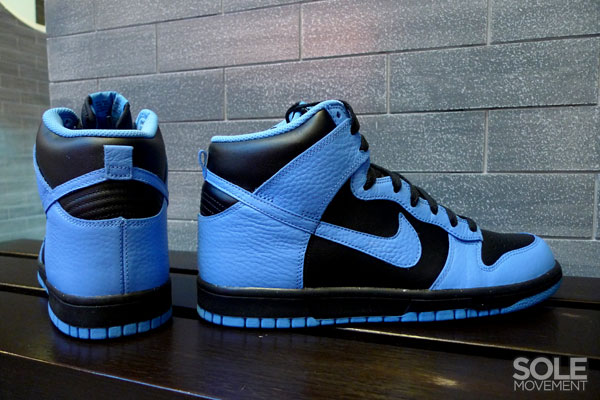 Nike Dunk High - Black/University Blue (5)