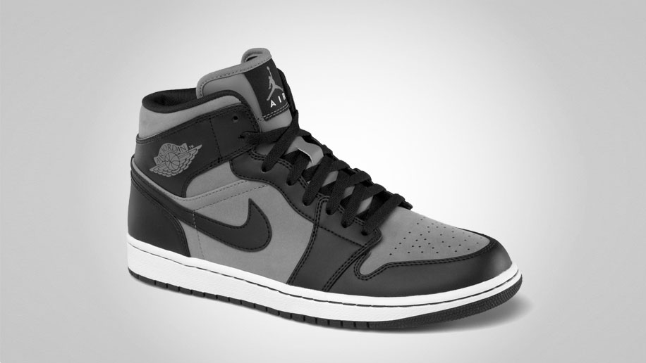 Air Jordan 1 Phat Cool Grey Black White 364770-023 (2)