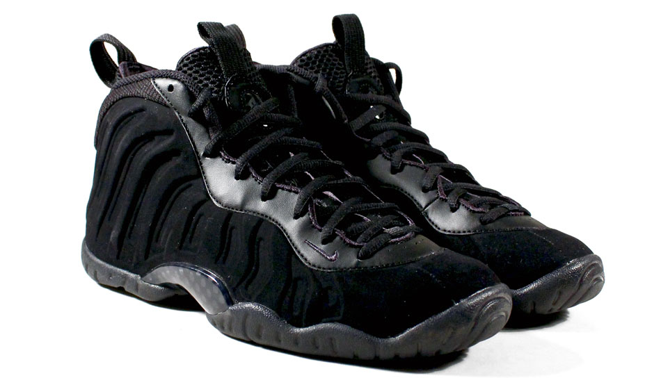 83339f43b0e Your Kids Can Have  Black Suede  Foamposites Too