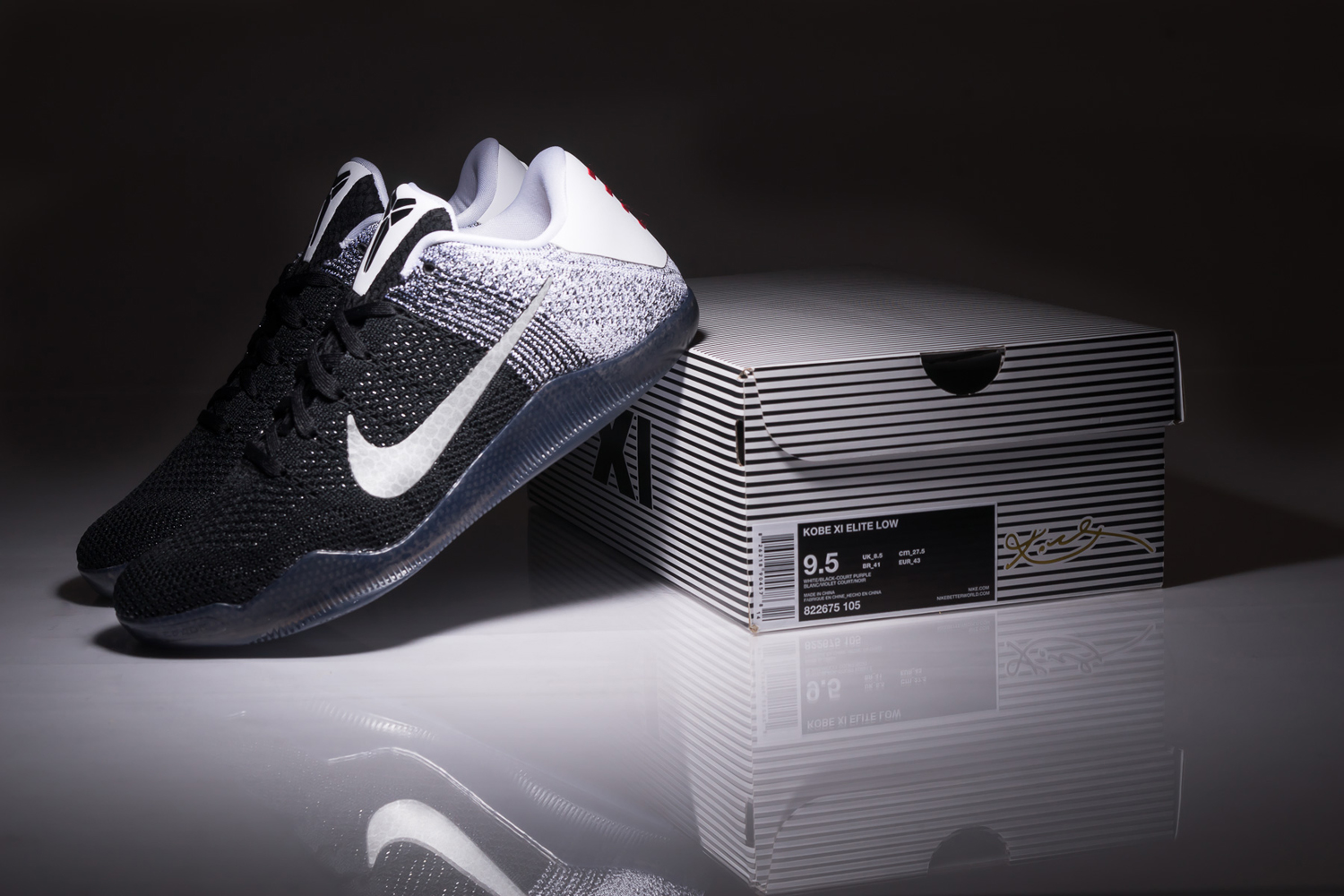 reputable site 58aa5 0be6d Nike Kobe 11 Elite Low Release Date  01 30 16. Color  White Black-Court  Purple Style    822675-105. Price   200
