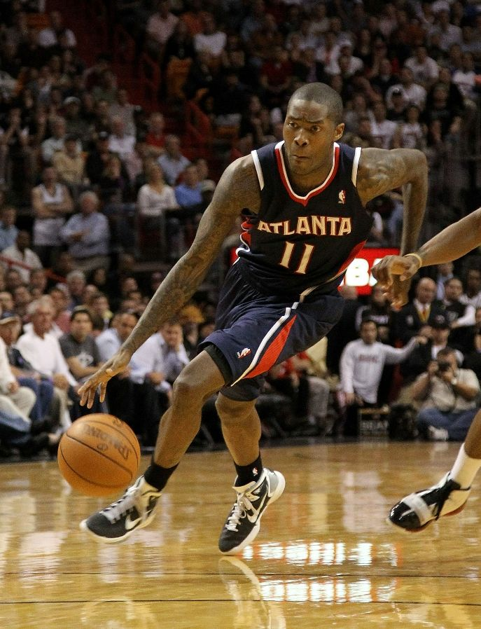 Jamal Crawford wearing the Nike Hyperdunk 2010