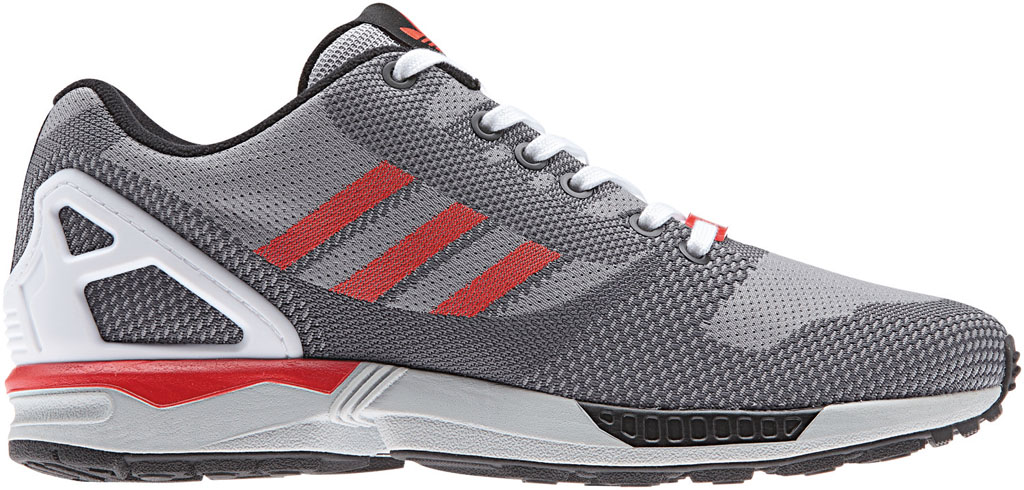 adidas ZX Flux 8000 Weave Pack Grey Red White (1)