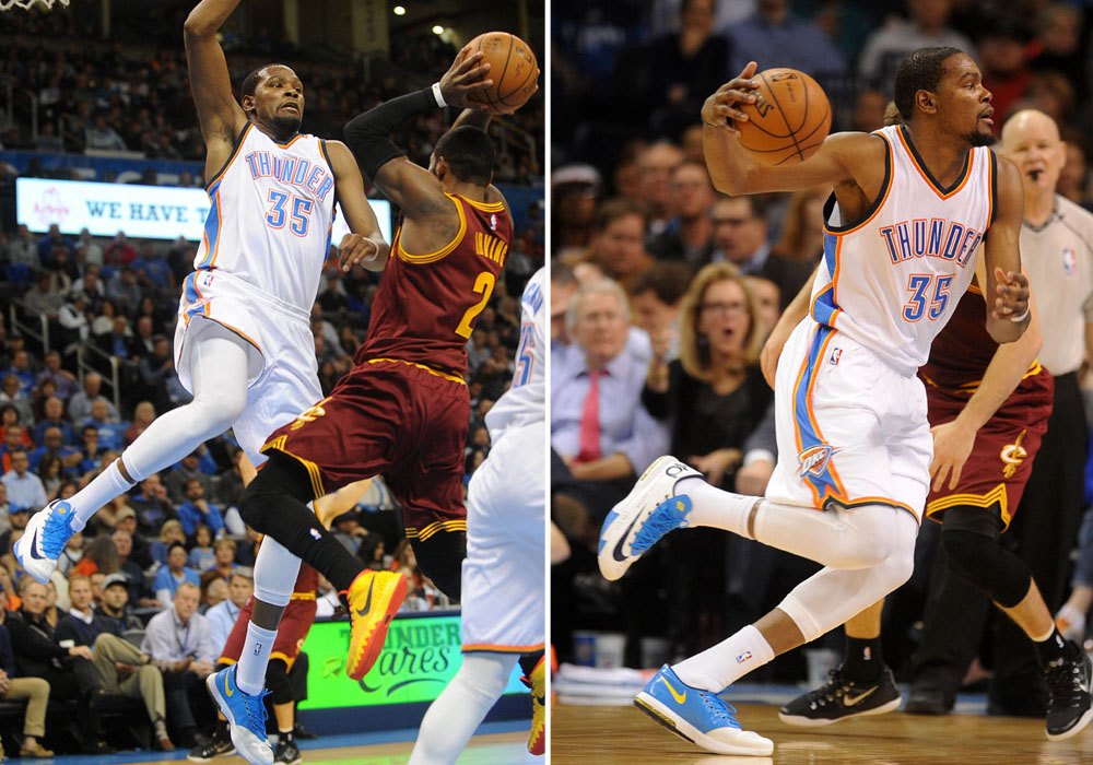 huge selection of a7db7 c4539 Kevin Durant hasn t been wearing his latest Nike signature sneaker on court.